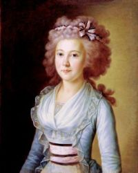 Yermolai Kamezhenkov-Portrait of a Young Lady 1790