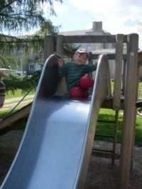 On the playground ...