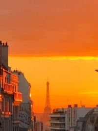 Sunset in the 20th Arrondissement