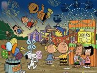 It's a summer carnival Charlie Brown