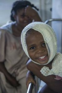Medecins Sans Frontieres treat severe burn victims in Haiti