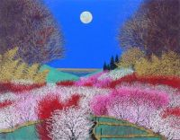 """""""Flowers and Moon"""""""