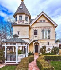 Victorian home with lovely garden