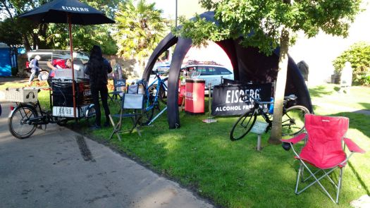 Tour of Britain Event village Kirkcudbright 2
