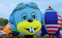 Rocky the Flying Squirrel? Hot Air Balloon
