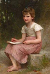 William-Adolphe Bouguereau (1825-1905) - A calling, 1896