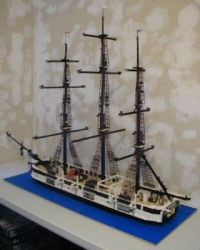 Lego 'Essex' style whaler