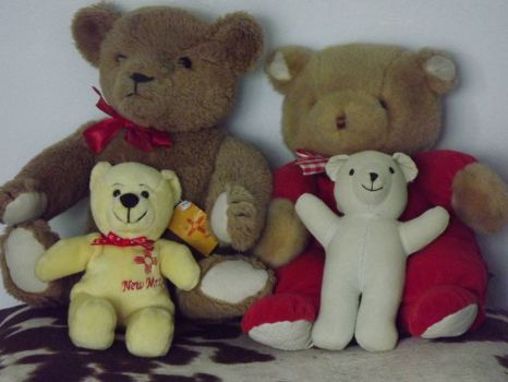 More of my bears . . . . .