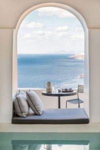 Santorini Window Seat