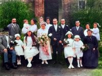 Wedding 1920's Syndal Farm Kent
