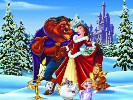 beauty and the beast christmas
