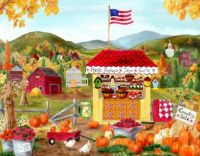folk art farm stand