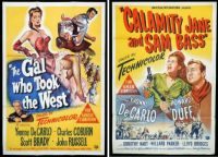 Yvonne DeCarlo ~ The Gal Who Took the West ~ 1949 and Calamity Jane and Sam Bass ~ 1949