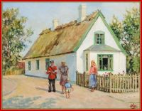 Village Scene from Ballerup, Denmark