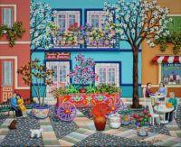 Carreta con Flores (Flower Cart)