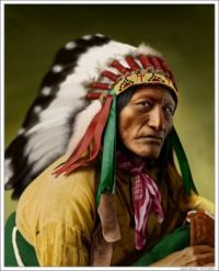 Wolf Robe was chief of the southern Cheyenne