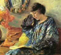 Guy Rose (American, 1867–1925), Marguerite (1918)