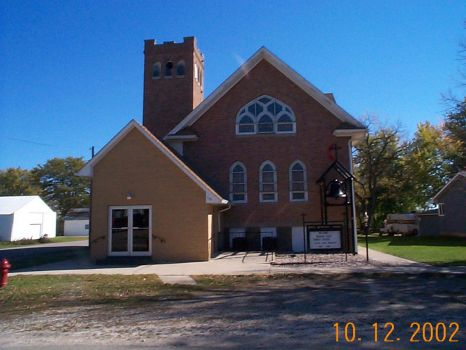 Church in Terril, Iowa