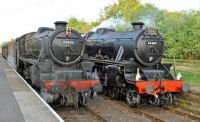 44871 and 45407 The Lancashire Fusilier