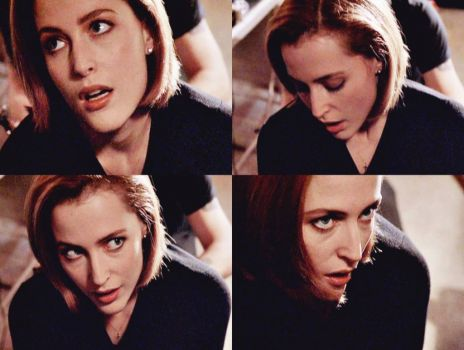 Dana Scully gets her first tattoo... and somehow looks just as gorgeous as ever