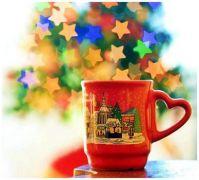 A Mug of Christmas Coffee