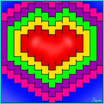 Solve Heart jigsaw puzzle online with 169 pieces