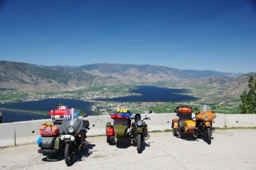 Osoyoos BC from the Anarchist Lookout