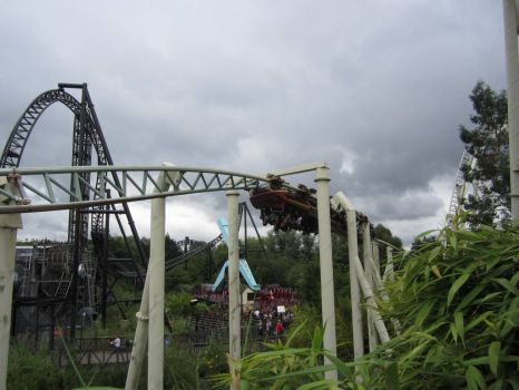 THORPE PARK- Colossus, SAW and Samurai