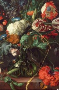 17 th C floral painting