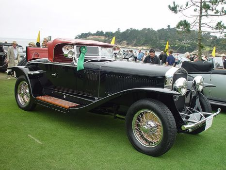 1927 Isotta-Fraschini Tipo 8A Fleetwood