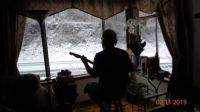Snow and guitar, what could be better?