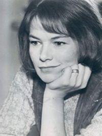 Glenda Jackson In 1971, British Academy Award Actress And Politician