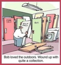 Bob loved the Out Doors