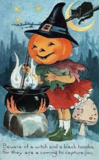 Vintage Halloween Cuteness