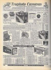 Vintage Cameras 1927 Sears Roebuck
