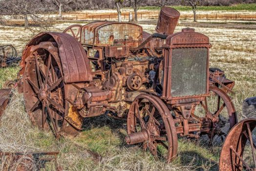 Not just old, ancient as tractors go