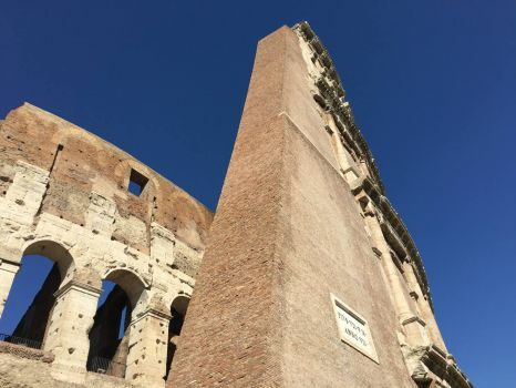 Colosseum in Roma Italy