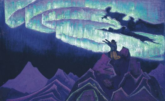 Moses the Leader, Nicholas Roerich, 1926