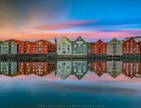 The Wonderful Summer Midnights in Trondheim Norway