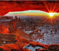 Canyonlands winter