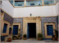 traditional inner courtyard, Tunisia