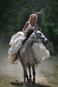 bruid in galop