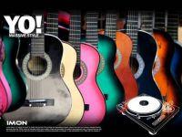 colourful guitar