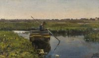 Beppe Ciardi—A traghetto in the Venetian marshes