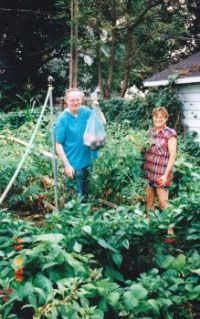 backyard garden 1998