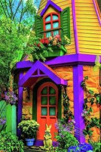 Rabbit In The Doorway by Garry Gay
