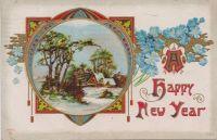New Year's Postcard, 1911