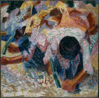 Selciatori - Umberto Boccioni 1914