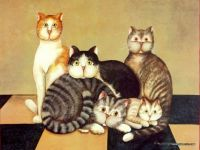 family of cats