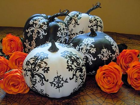 fancy pumpkins